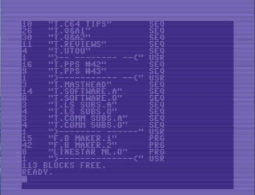 WinVICE C64 Emulator